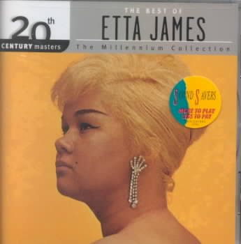 20TH CENTURY MASTERS:MILLENNIUM COLLE BY JAMES,ETTA (CD)